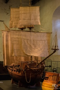 Scaled Model of Sailing Ship