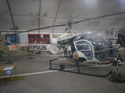 Swedish Police Helicopter