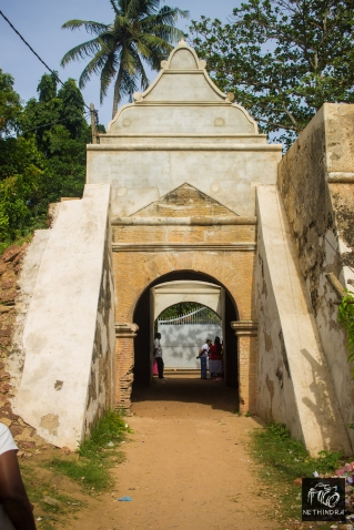 The last remaining entrance of the Fort